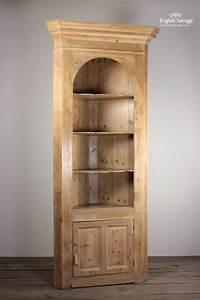 Antique Pine Corner Dresser Kitchen  Shop Unit