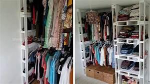 Dressing En Palette : 50 utilisations incroyables de vieilles palettes en bois ~ Melissatoandfro.com Idées de Décoration