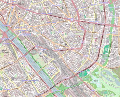 filee arrondissement paris france open street map