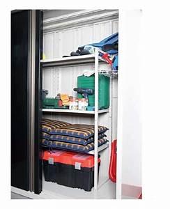 Etagere En Fer Pour Garage : stunning excellent tagres en mtal pour abris de jardin ~ Edinachiropracticcenter.com Idées de Décoration