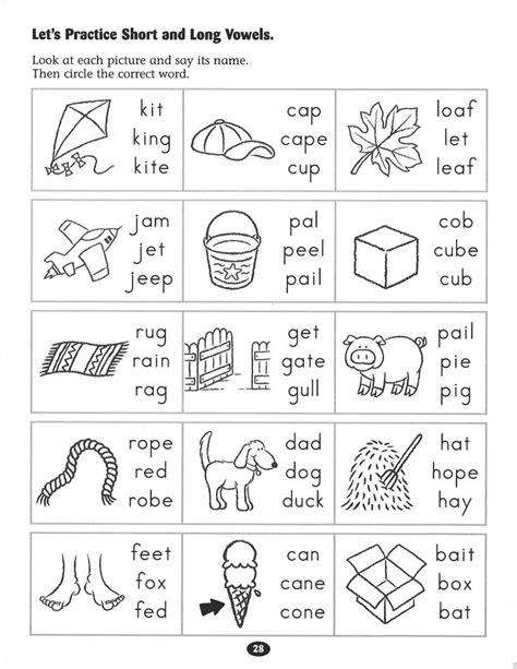 let s practice short and vowels worksheet rockin reading tips and tricks school