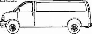 Ford cargo free coloring pages for Ford econoline van