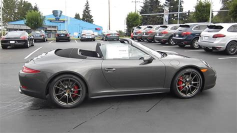 porsche  agate gray stock  youtube