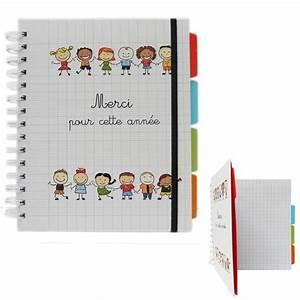 Cadeau Pour Maitresse D École : cahier spirales a5 merci pour cette ann e carnet ~ Melissatoandfro.com Idées de Décoration