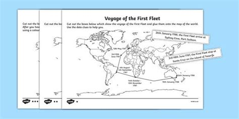the fleet mapping the voyage differentiated activity