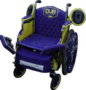 Pimped Out Wheelchair