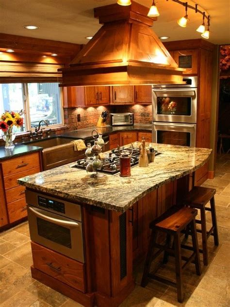 country kitchen island ideas country kitchen home improvement ideas kitchen home