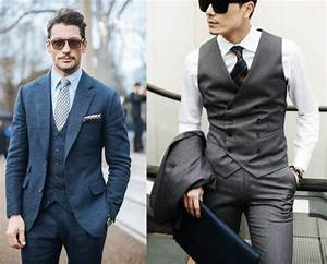 L Homme Tendance : le retour du gilet de costume dans le dressing de l homme ~ Carolinahurricanesstore.com Idées de Décoration