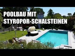 Styropor Pool Bauen : poolbau mit styropor schalsteinen kompletter prozess im video youtube ~ Frokenaadalensverden.com Haus und Dekorationen
