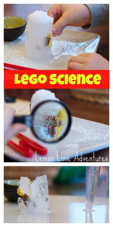Lego Science An Ice Excavation Experiment