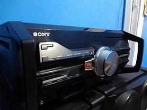 History Vendas   Mini System Sony Genezi Fst