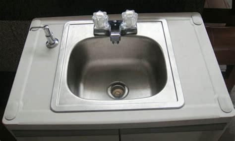 indoor no plumbing sink self contained sink no plumbing ebay