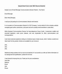 Free cover letter template 19 free word pdf documents for Email cover letter template