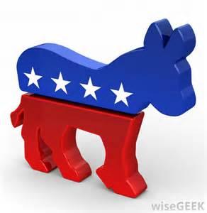 Democratic Party Symbol Donkey