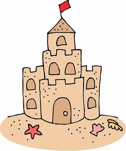 Castle Clipart Sand Clip Clipartion