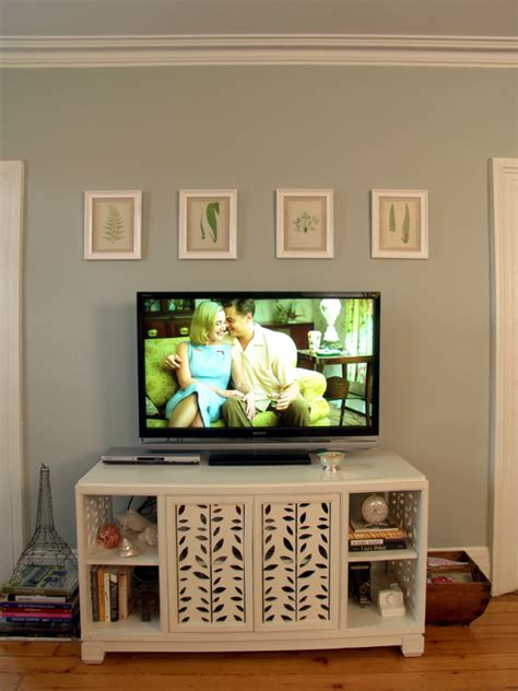decor above tv apt makeover my living room seeing design