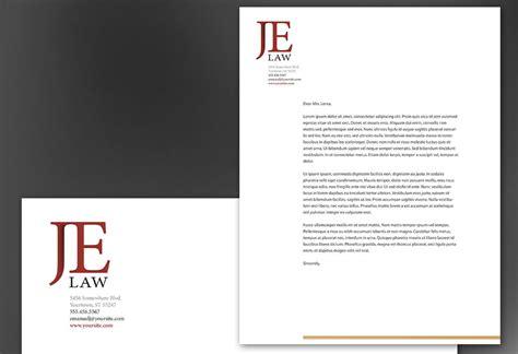 attorney letterhead templates  printable letterhead