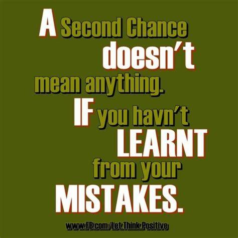 Second Chances Quotes Second Chance Quotes Quotesgram