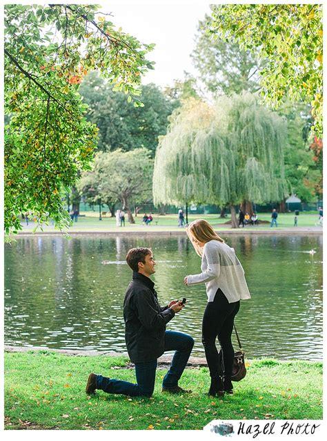 boston public garden proposal hazel photo weddings