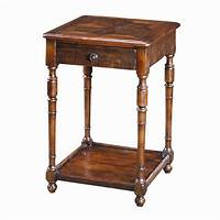 vintage end table Theodore Alexander Tables CB50023 Traditional Antique Wood ...