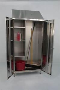 Mop, Storage, Cabinet, Mop, Cupboard, By, J, U0026k, Stainless, Solutions, Ltd