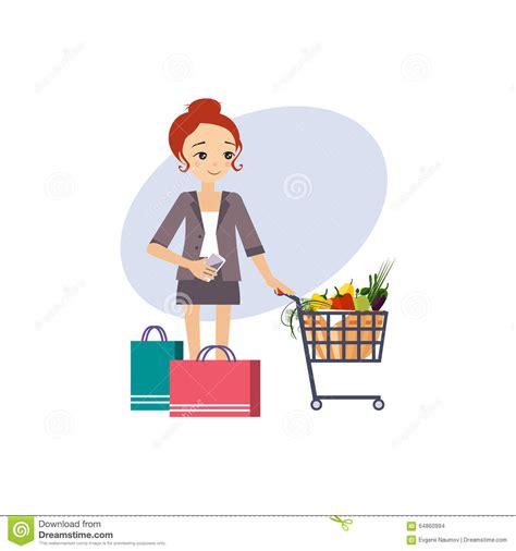 compras actividades rutinarias diarias de mujeres