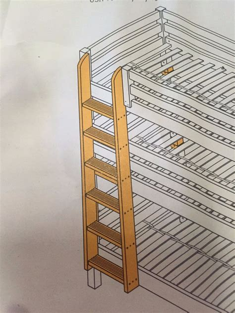 retractable bunk bed ladder ladders sold separately rv