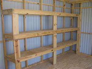 Woodwork Build Your Own Garage Shelves From 2 C3 A3 C2