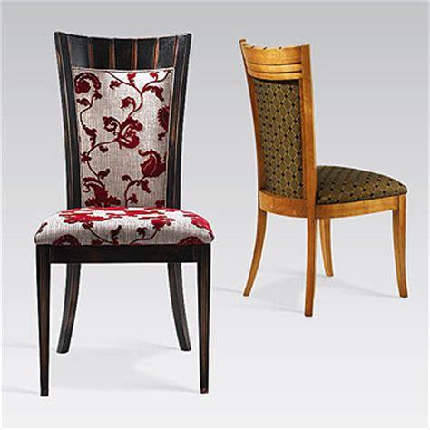 tissus pour chaise la salle à manger les tissus se mettent à table