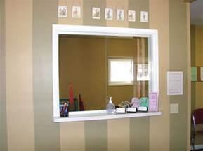 Office Sliding Reception Glass Windows