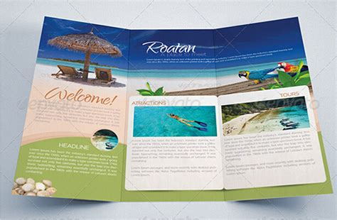 tourist brochure template free download travel and tourism brochure templates free toddbreda