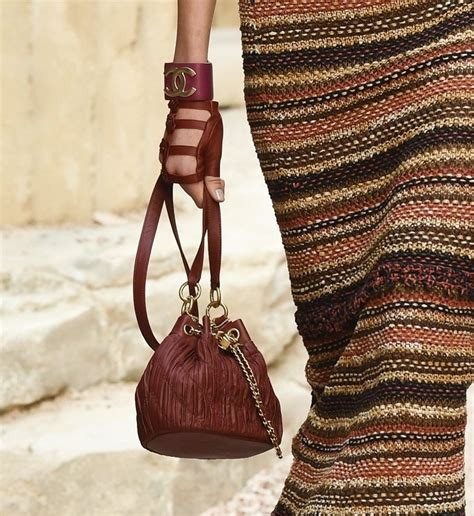 chanel cruise  runway bag collection spotted fashion