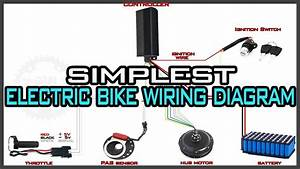 Wiring Diagram Electric Bike Controller