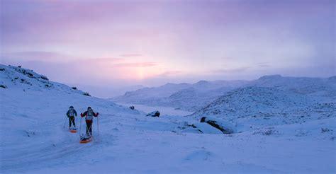 winter speed record  arctic circle trail  gearjunkie