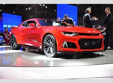 2017 Chevy Camaro ZL1 Arrives with 640 HP Sent Through 10
