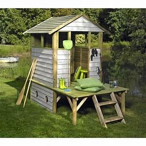 Maison Enfant Bois : cabane pour enfants bois arthur cabanes cabane pour enfant et cabane enfant ~ Teatrodelosmanantiales.com Idées de Décoration