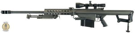 50 Bmg Semi Auto by Barrett 82a1 50 Bmg Semi Auto Sniper Rifle Demo Set Up