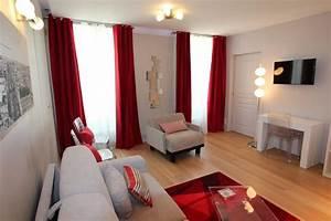 Salon Gris Blanc : decoration salon moderne gris rose ~ Dallasstarsshop.com Idées de Décoration