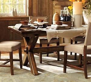 Table Salle A Manger Design : table salle manger design rustique en 42 id es originales ~ Teatrodelosmanantiales.com Idées de Décoration