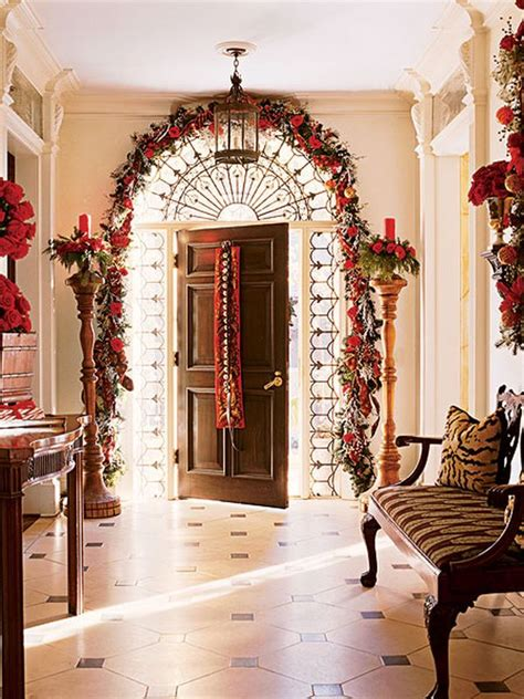fun festive christmas entryways