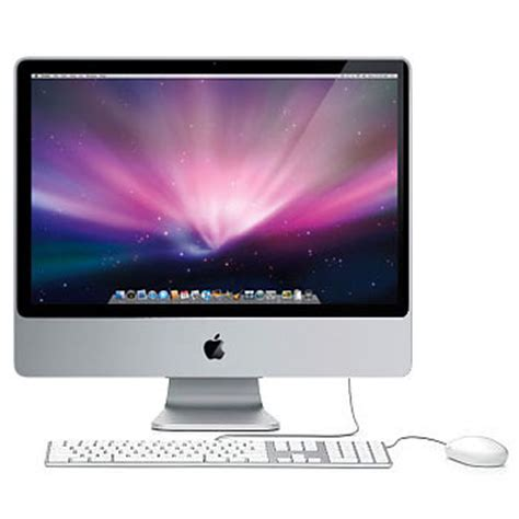 apple ordinateur bureau apple imac 24 quot 3 06 ghz achat pc multimedia sur materiel