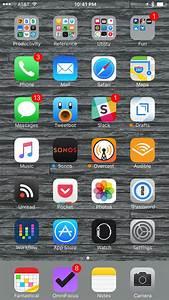 My Home Screen: iOS 9 Edition — MacSparky