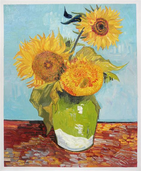 Sunflowers 1888 Vincent Van Gogh Paintings