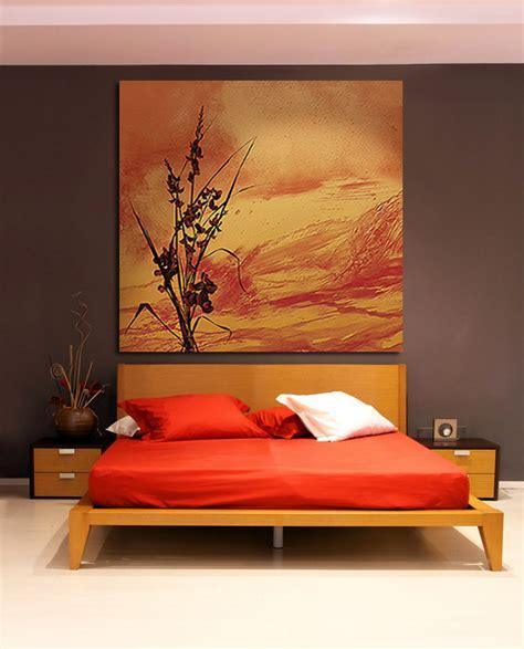 chambre orange chambre deco orange
