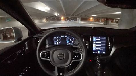 volvo xc  awd  design pov night driving