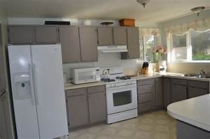 painted cabinets fabulously finished With best brand of paint for kitchen cabinets with pottery wall art