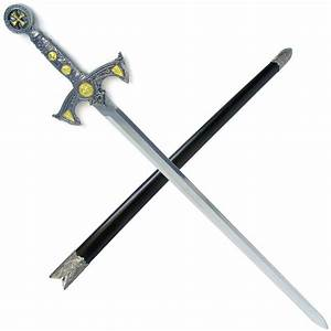 "Knight Templar Sword w/ Hard Scabbard 39"" | Medieval Gear ..."