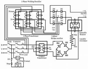 Welding Transformer Circuit Diagram