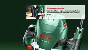 Bosch Oberfräse Pof 1200 Ae : fresadora de superficie bosch pof 1200 ae youtube ~ Watch28wear.com Haus und Dekorationen