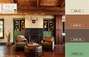 Paint colors for a masculine space get the look for a for Interior paint colors for rustic homes